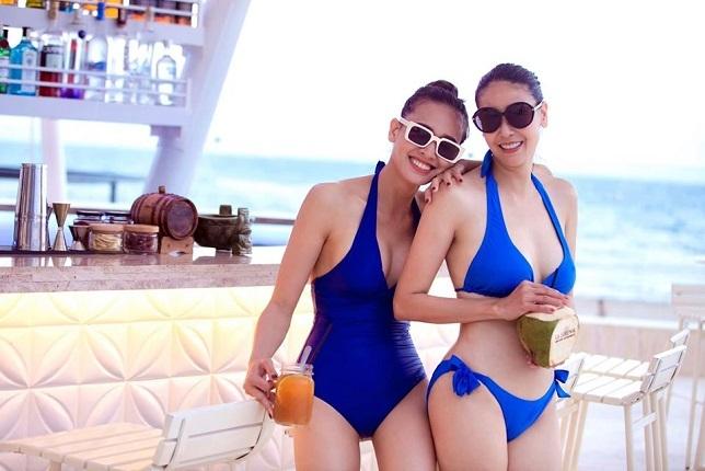 Tuổi 43, Hà Kiều Anh vẫn nóng bỏng với bikini