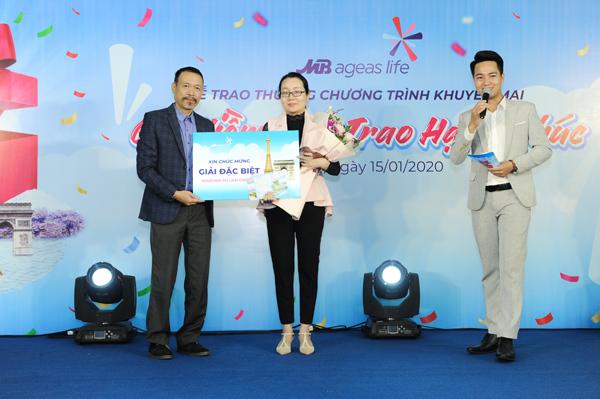 MB Ageas Life trao thưởng khuyến mại 'Gửi niềm tin - Trao hạnh phúc'