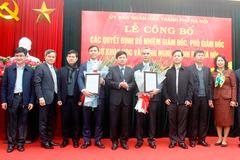 Chủ tịch Hà Nội bổ nhiệm Giám đốc Sở KH&CN