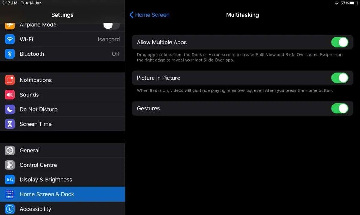 Cách sử dụng tính năng đa nhiệm Slide Over trên iPadOS