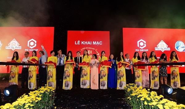 Khai mạc Hội hoa xuân Phú Mỹ Hưng