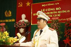 Công an tỉnh Lâm Đồng có giám đốc mới