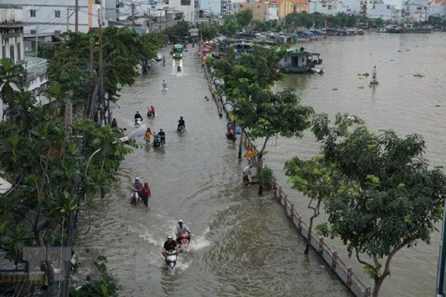 Sea level rise,Moody's,vietnam's credit