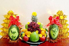 Phong thuỷ bất ngờ từ những trái cây quen thuộc thành mâm ngũ quả ngày Tết