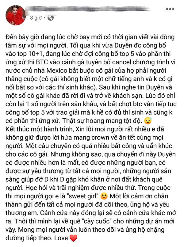 Hoa hậu Việt Nam, Jamaica lên tiếng về scandal Hoa hậu Toàn cầu 2019