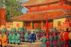 Nghi lễ không thể thiếu của các vị vua Việt vào ngày Tết