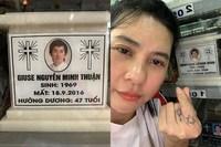 Viếng mộ Minh Thuận ngày giáp Tết, Cát Phượng nói gở: 'Rồi sẽ đến lượt em'