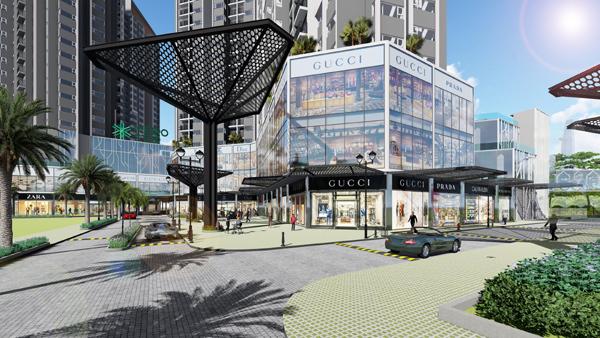 Sức hấp dẫn của shophouse kết nối trực tiếp ga Metro