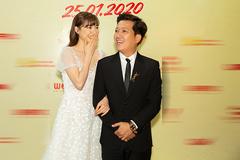 Trường Giang đưa Nhã Phương đi ra mắt phim 1 triệu đô