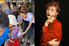 Hà Hồ giản dị làm từ thiện trước Tết, Văn Mai Hương tươi tắn sau scandal