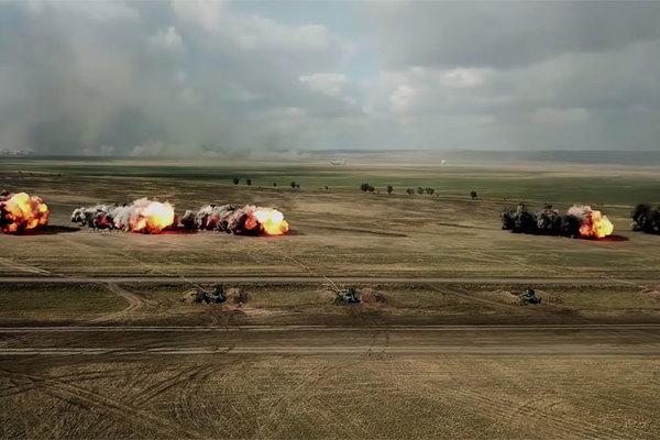 Xem các kỹ sư quân sự Nga tập trận vô cùng ấn tượng