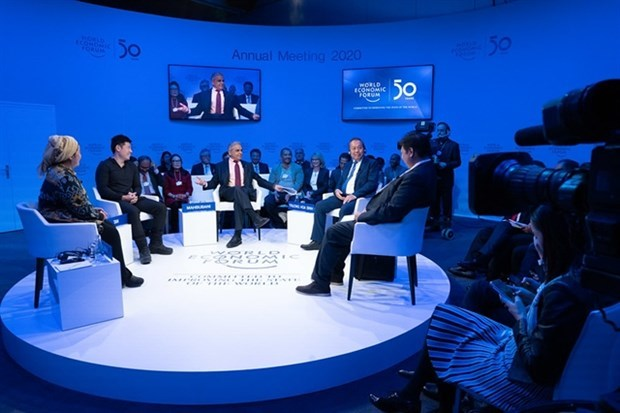 Deputy PM active at 50th meeting of WEF in Davos