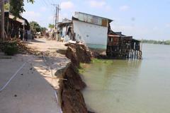 Landslides in Mekong Delta attributed to sand exploitation