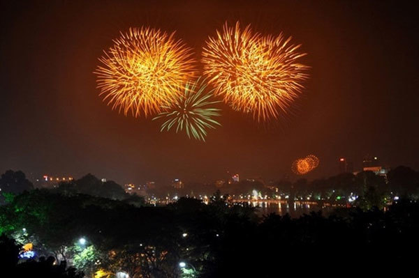List of firework displays in Hanoi