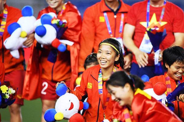 Striker Huynh Nhu, born to play football