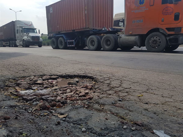 Poor management leading to overloaded trucks on the road