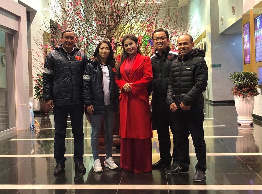 Tuyển nữ Việt Nam nhận tin vui trước Tết