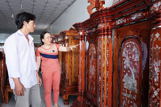 100-year-old village famed for its ancestor worship altars