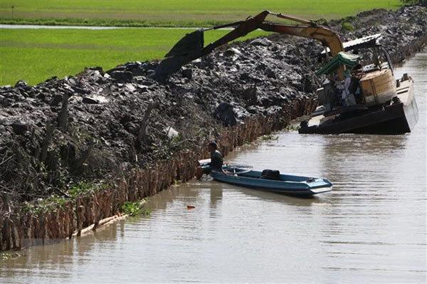 Mekong Delta,saltwater intrusion,Vietnam environment