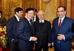 Tổng bí thư chủ trì gặp mặt các lãnh đạo, nguyên lãnh đạo Đảng, Nhà nước
