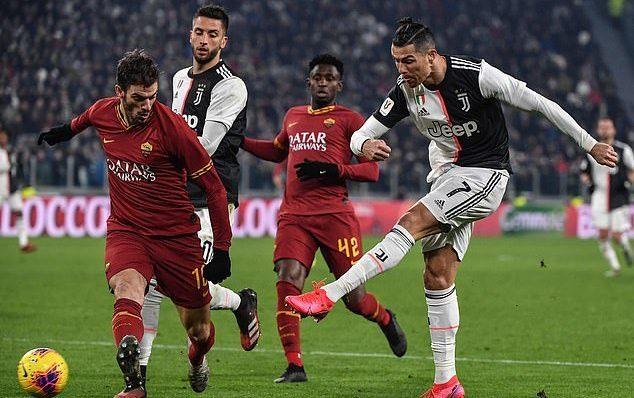 Juventus,Roma,bồ cũ Ronaldo