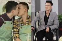 Công khai hôn trai đẹp ở show hẹn hò, nam MC đình đám LGBT Việt khẳng định chỉ 'thử yêu'