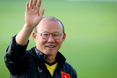 """HLV Park Hang Seo: """"Chúc bóng đá Việt Nam thực hiện mọi giấc mơ"""""""