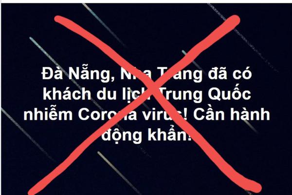 Đà Nẵng bác tin du khách Trung Quốc nhiễm virus corona