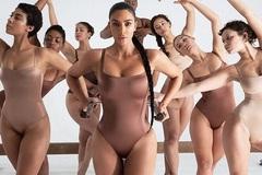 Kim Kardashian khoe dáng đồng hồ cát trong loạt ảnh quảng cáo