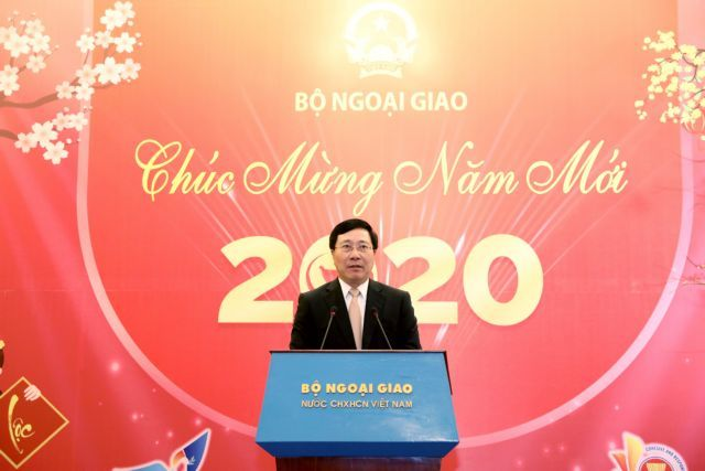 Elevate VN's profile, fostering ties with all countries high on 2020 agenda: foreign minister