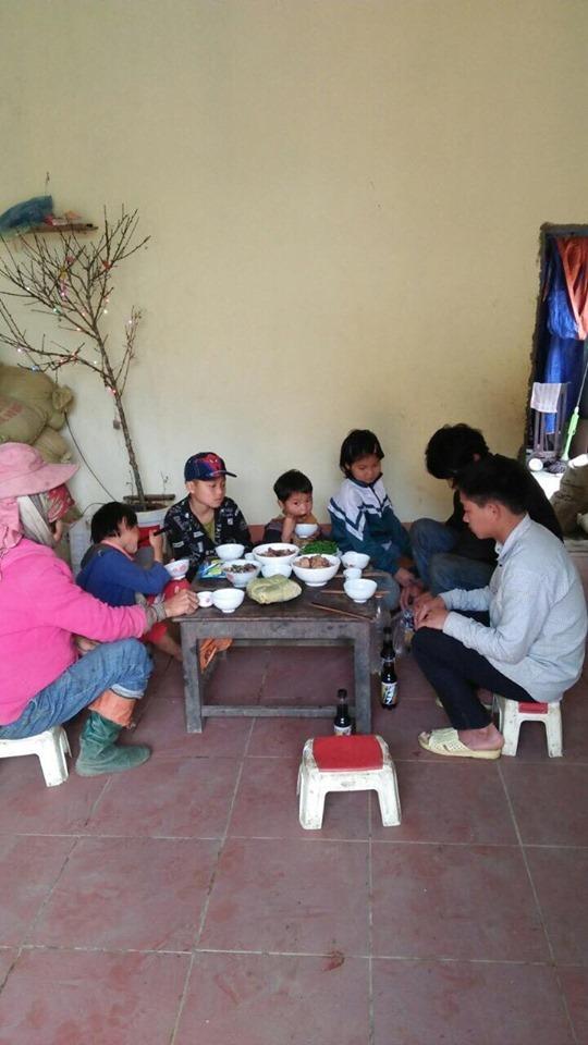 Mùa Xuân đã về với hộ gia đình nghèo A Mú Sung