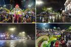 Đón giao thừa, Hà Nội heo hút mưa dày, Sài Gòn đặc kín người ra đường