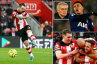 Southampton 0-0 Tottenham: Nguy to cho Mourinho (H1)