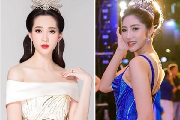 2 Hoa hậu miền Tây trùng họ tên: Nàng mang bầu kín như bưng, nàng khoe khắp facebook