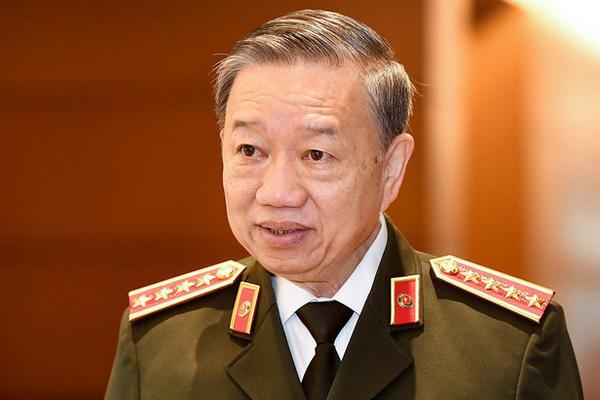 Tô Lâm,Bộ trưởng Công an,công an