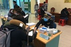 Hình ảnh đặc biệt đầu năm tại các cửa khẩu trong những ngày chống dịch viêm phổi