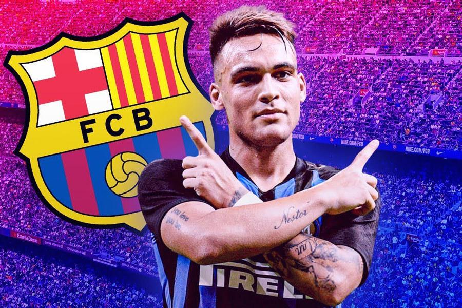 Barca chi 111 triệu euro, ký gấp Lautaro Martinez