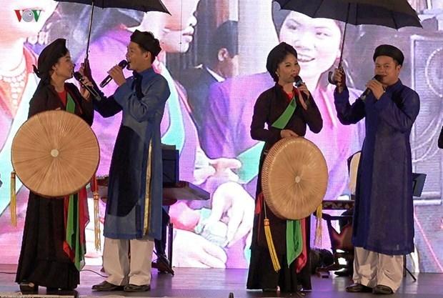 Bac Ninh preserves and develops Quan Ho folk songs