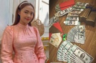 Minh Hằng khoe tiền mừng Tết, Phan Mạnh Quỳnh lì xì bạn gái 123 triệu