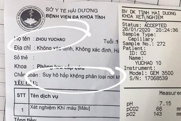 BV Nhi TƯ đang cách ly bé trai Trung Quốc nghi nhiễm virus corona