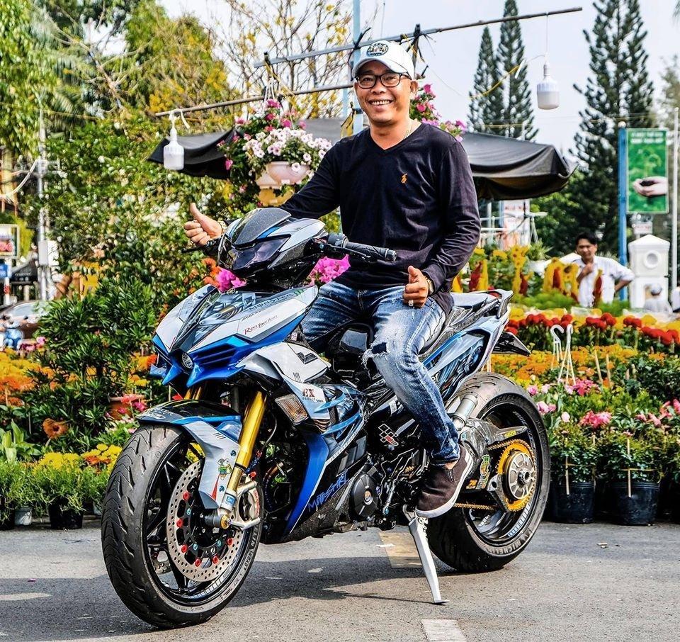 Dân chơi Cần Thơ chi 300 triệu lên đời Yamaha Exciter hầm hố