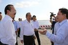 Phó Thủ tướng Trương Hoà Bình thăm cảng quốc tế Long An