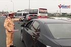 Ùn tắc nhiều km mùng 4 Tết, CSGT yêu cầu xả trạm BOT Pháp Vân - Cầu Giẽ