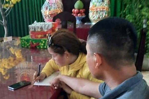 Mot phu nu ban hang online dang tin sai su that ve '6 ca nhiem corona' hinh anh 1