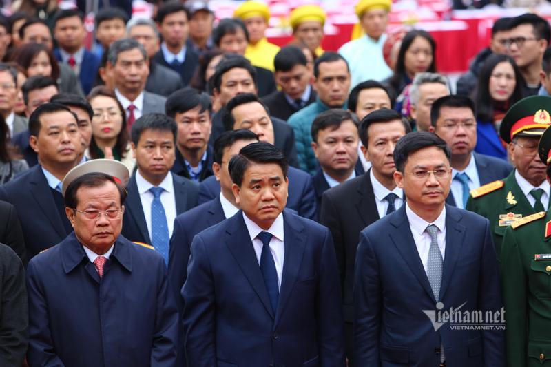 Tết Canh Tý,gò Đống Đa,Chủ tịch Nguyễn Đức Chung