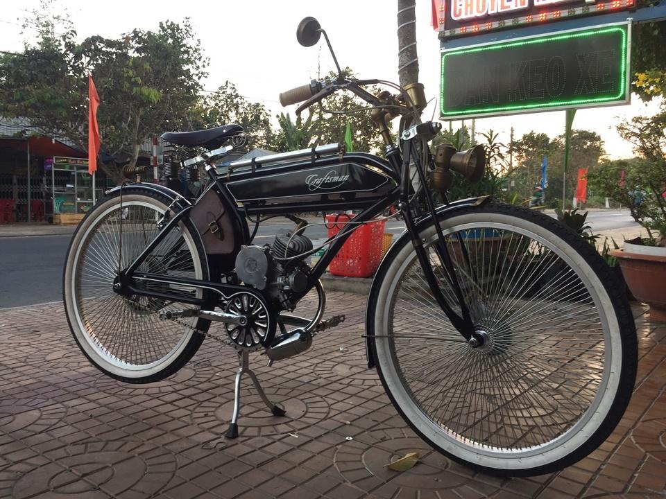 xe đạp máy,xe đạp hoài cổ,Craftsman 1924