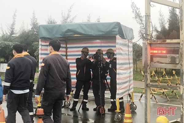 Sau 15/2 lao động Trung Quốc mới được quay lại Formosa Hà Tĩnh