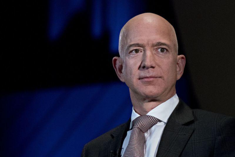 Điện thoại của CEO Amazon bị hack
