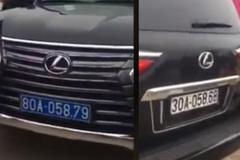 Xác định được chủ nhân xe Lexus mang 2 biển xanh trắng tại chùa Tam Chúc