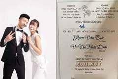 40 mâm cỗ trong tiệc cưới cầu thủ Phan Văn Đức và hot girl xứ Nghệ